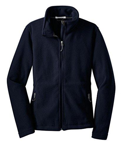 (Port Authority L217 Ladies Value Fleece Jacket - True Navy - Small)