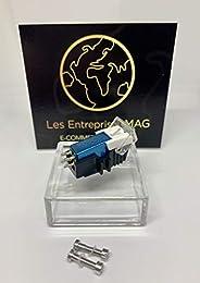 Cartridge + Diamond Stylus for YAMAHA YP211, YP400, YP450, YP700, YP B2, YP B4 Sea Blue