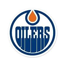 "Edmonton Oilers NHL car bumper sticker decal (5"" x 5"")"