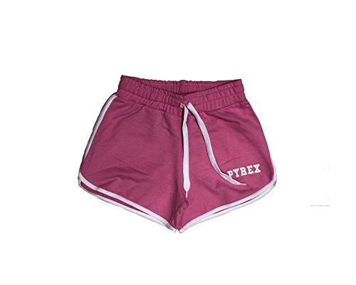 Para Deportivo Mujer Pantalón Rosa Corto Pyrex n0Fg67xx