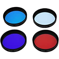 Astromania Telescope LRGB 2 Inch Filter Set - Give Stunning Astrophotographic Results