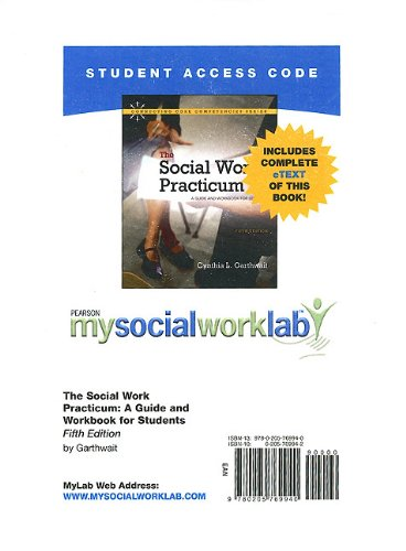 MySocialWorkLab with Pearson eText -- Standalone Access Card -- for The Social Work Practicum: A Guide and Workbook for
