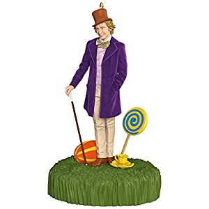 Hallmark Keepsake 2017 Willy Wonka and The Chocolate Factory Sound Christmas Ornament