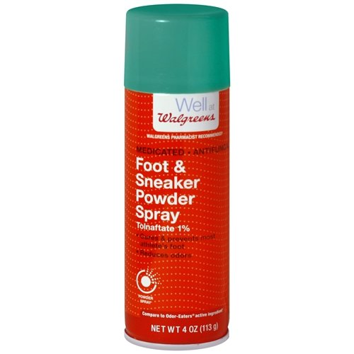 Walgreens Odor Control Foot & Sneaker Spray Powder 4 oz(pack of 2)