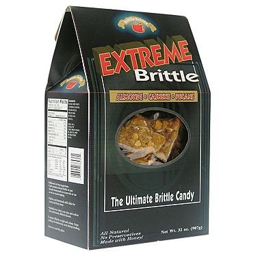 brittle-brittle Extreme Brittle Candy 32 oz.(pack of 4) A1 by Brittle