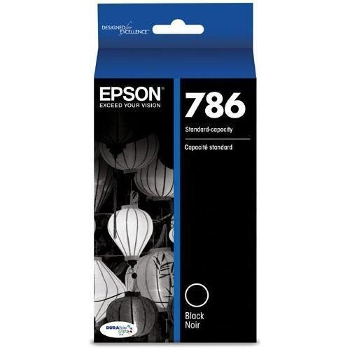 EPST786120 - Epson DURABrite Ultra Ink T786 Ink Cartridge - Black