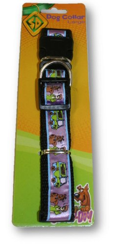 Scooby Doo Dog Collar (Purple, Large)