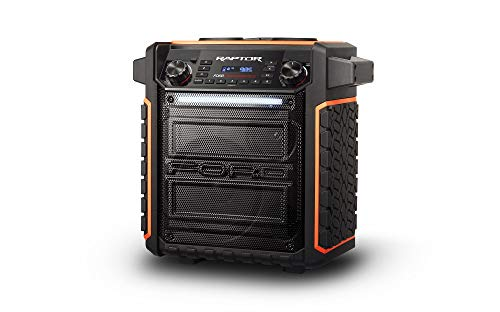 ION Audio Raptor | Ultra-Portable 100-watt Wireless Water-Resistant Speaker with 75-hour Rechargeable Battery