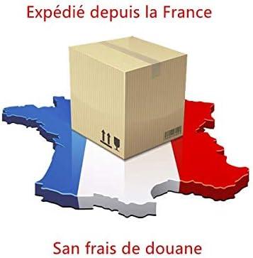 Hirondelle Bleue/® Exp/édi/é depuis la France Porte Cl/é en Silicone Moto g/én/érique compatible avec AKRAPOVIC Noir//Bleu Lot de 2