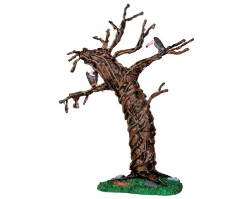 Lemax Spooky Town Twisted Vulture Display Tree # 44758]()