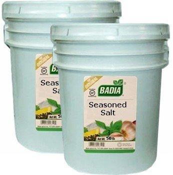Badia Seasoned Salt 50 lbs Pack of 2
