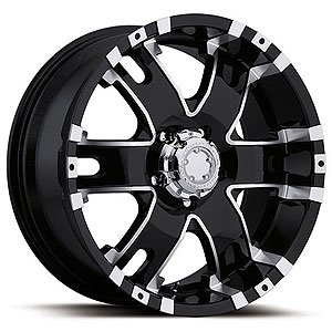 "Ultra Wheel 202B Baron Matte Black Wheel (18x9""/6x5.5mm, +12 mm offset)"