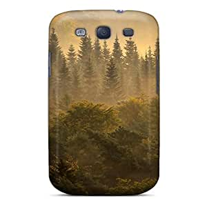 Anti-scratch And Shatterproof Deep Forest Phone Case For Galaxy S3/ High Quality Tpu Case