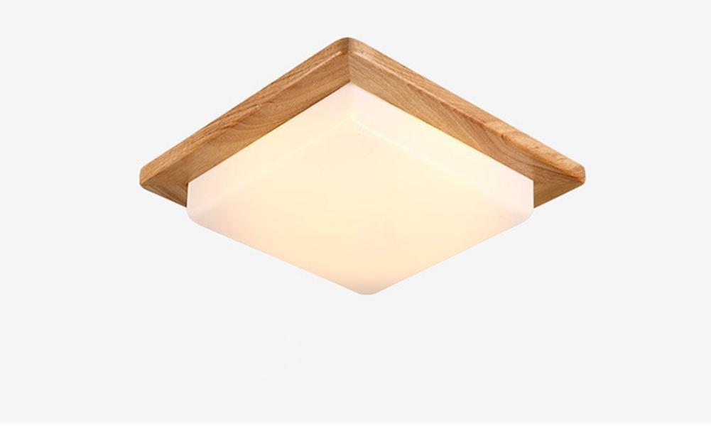 Round Led-Leuchten, Warmes Licht, Wei/ßes Licht, Kronleuchter, Innenbeleuchtung, Au/ßenleuchten, Wandleuchten ,round GBT Led Deckenleuchte Holz Wohnzimmer Schlafzimmer Lichter