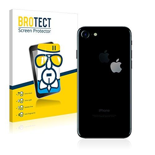 BROTECT AirGlass Pellicola Vetro Flessibile Chiaro per Apple iPhone 7 (Logo sulla parte posteriore) Proteggi Schermo, Vetro Protettivo - Extra-Resistente, Ultra-Leggero