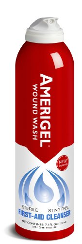Amerigel Wound Skin Care Wash, 7.1 Ounce (Hydrogen Peroxide Wound Care)