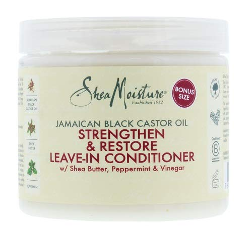 Shea Moisture Jamaican Black Castor Oil Strengthen/Grow and Restore Leave in Conditioner 431 ml