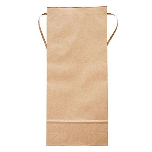 マルタカ クラフトSP 保湿タイプ 無地 窓なし 角底 5kg用紐付 1ケース(300枚入) KHP-831 B077GJT1MX 5kg用米袋|1ケース(300枚入) 1ケース(300枚入) 5kg用米袋