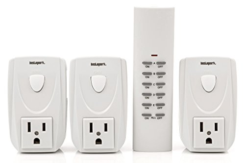 Instapark ORC Series Indoor Wireless Electrical Outlet On/Off Switch Remote