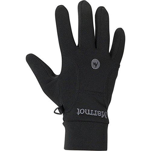 Marmot Men's Power Stretch Glove, Black, - Fleece Marmot Mens