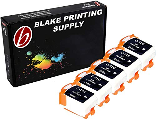 5 Pack Compatible Canon BCI-11 5 Tri Color for use with Canon BJC-55, BJC-70, BJC-80, BJC-85, BJC-85W, LR1. Ink Cartridges for inkjet printers. BCI-11-C © Blake Printing Supply ()