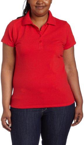 BASIC Southpole Juniors Plus Basic Pique Polo,Red,2x