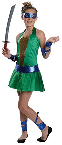 Rubies Teenage Mutant Ninja Turtles The Animated Series Leonardo Costume, Tween -