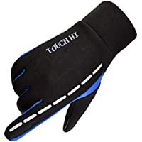 JETE-TECH Cycling Touch Screen Outdoor Gloves Waterproof Outdoor Jogging Skiing Hiking Running