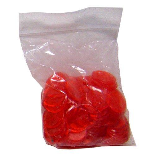 5000 Red Bingo Markers w/ Free Storage Bag