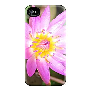 New Fashionable Johnlatisee FfhyWhx6586XYKHl Cover Case Specially Made For Iphone 4/4s(pretty Lotus)