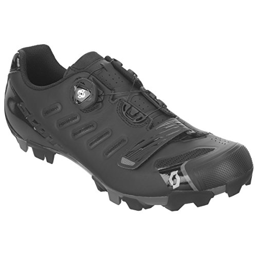 Scott MTB Team Boa Shoe 42 Matte Black/Gloss Black
