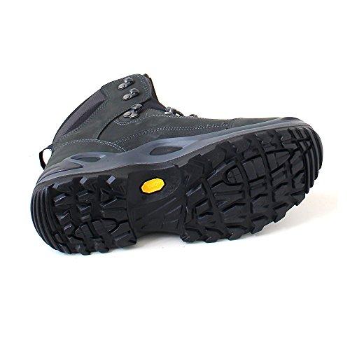 LOWA Renegade GTX Mid Women Outdoor Schuhe anthrazit-türkis - 38