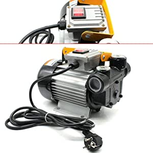 Bomba de aceite para calefacción diésel autocebante, 230 V, 230 V, bomba de extracción de aceite 60 L/min