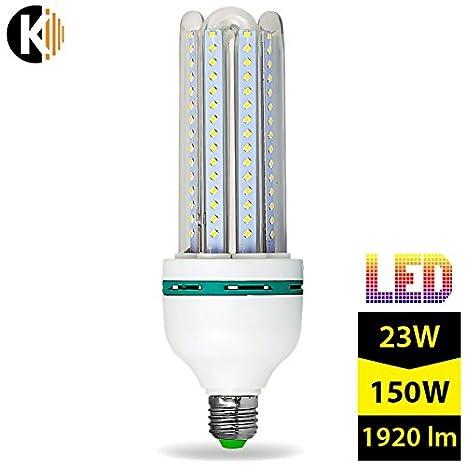 E27 23 vatios LED 4U de bajo consumo energético con caja de - equivalente a la