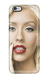 Tpu Case Cover Compatible For Iphone 6 Plus/ Hot Case/ Christina Aguilera
