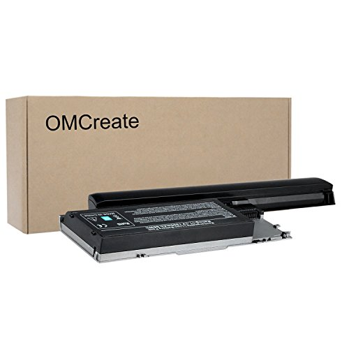 OMCreate 9 Cell Laptop Battery for Dell Latitude D630 D620, fits P/N PC764 PP18L - 12 Months Warranty