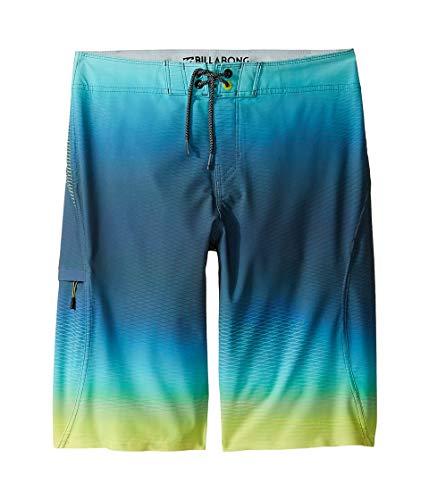 Billabong Kids Boy's Fluid X Boardshorts (Big Kids) Lime 27 (14 Big Kids)