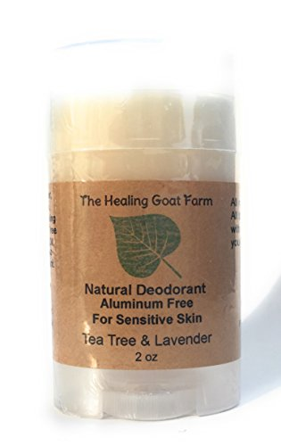 Natural Deodorant for Sensitive Skin without Aluminum and Baking Soda (1 count)