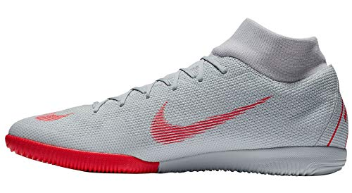 060 6 Superfly Wolf Academy Pure Shoes Ic Fitness Grey NIKE Lt Platinum Unisex Multicolour Crimson Adults FRw44q