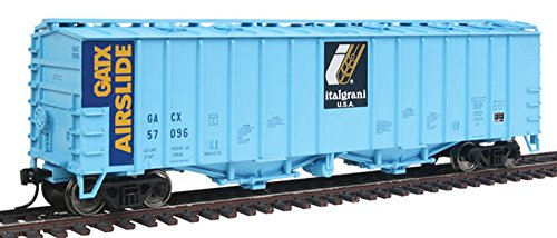 Airslide Covered Hopper 50 - Walthers HO Scale 50' 2-Bay Airslide Covered Hopper Italgrani GACX #57096