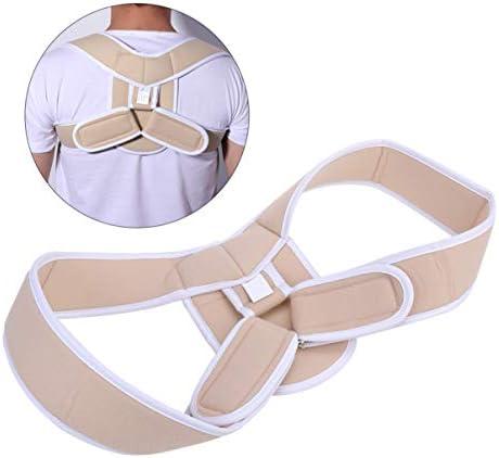 Artibetter Schulter Geradehalter zur Haltungskorrektur für Rücken Wirbelsäule Verstellbare Haltungstrainer für Männer Frauen Orthopädischer Schultergurt