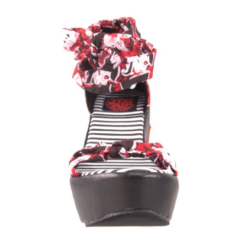 40 Noir Fast Brand Femme Noir Pour Too Sandales Pq01A