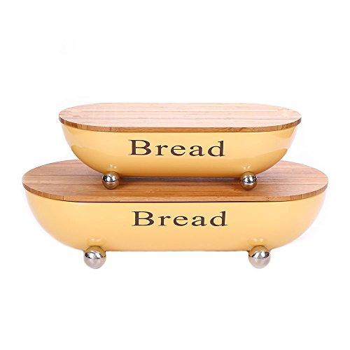 yellow bread bin - 8