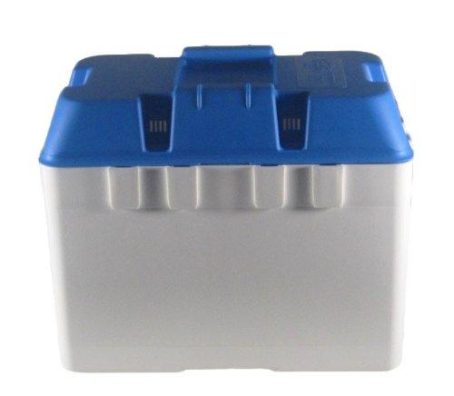 Batteriekasten Combi 324 x 184 x 207 weiß/blau