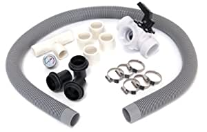 Game 4555 bypass kit for solarpro pool heaters for above ground pools swimming for Swimming pool solar heaters amazon