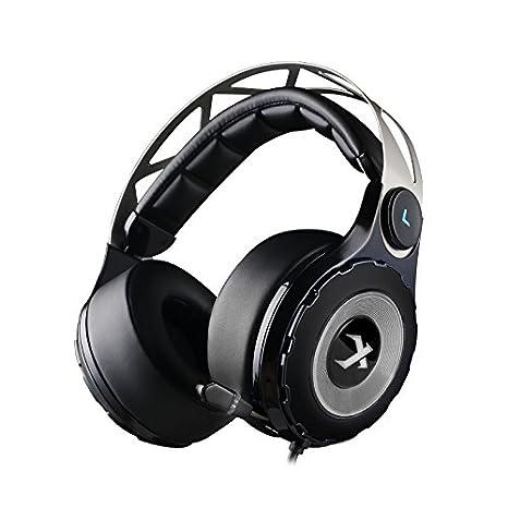 XIBERIA T18-D Auriculares Gaming con Sonido Envolvente Virtual Que Encima de Las Orejas y