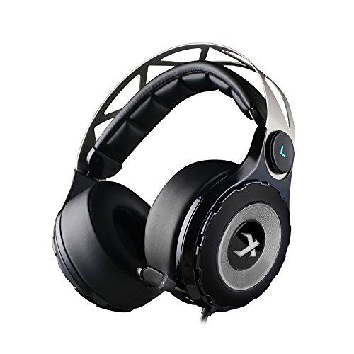 17 opinioni per XIBERIA T18-D Cuffie Gaming Da Gioco Audio Circondare Con Microfono Retrattile