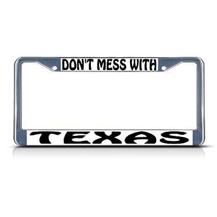 Amazon com: Keliteu Don't Mess with Texas Chrome Heavy Duty