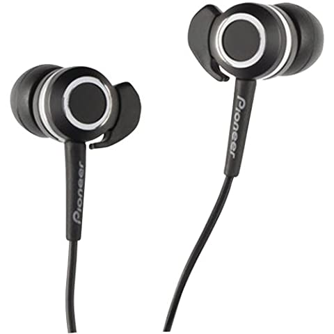 Pioneer SE-CLX40-K Headphones, Black (Discontinued by Manufacturer) (Pioneer Noise Cancelling)
