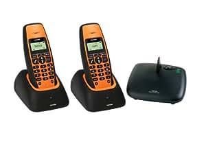 Topcom 10001706 - Teléfono (Teléfono DECT, Altavoz, 50 entradas, Servicios de mensajes cortos (SMS))